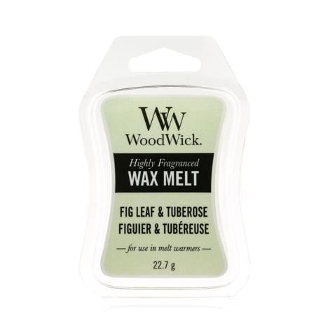 Woodwick Mini Wax Melt Fig Leaf & Tuberose