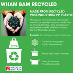 Wham Bam 36L Heavy Duty Recycled Box with Lid - Pack of 4