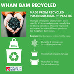 Wham Bam 45L Heavy Duty Recycled Box with Lid - Pack of 5
