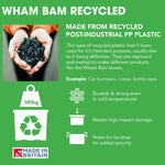 Wham Bam 154L Heavy Duty Recycled Box with Lid - Pack of 1