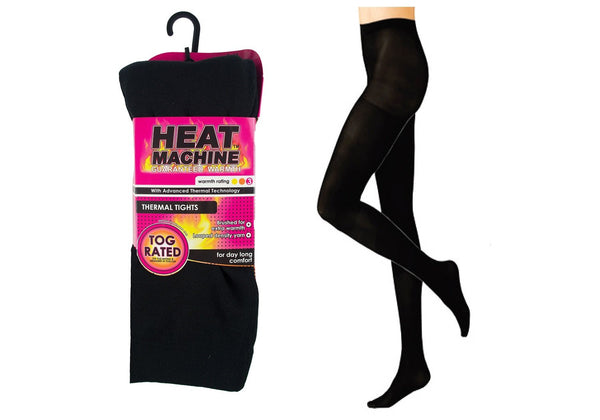 Heat Machine Thermal Tights - Black