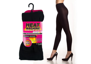 Heat Machine Thermal Leggings - Black