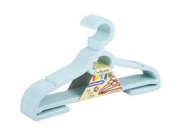 Pack of 8 Plastic Hangers