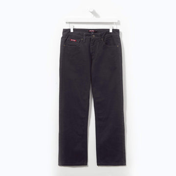 Basic Navy Twill Jeans