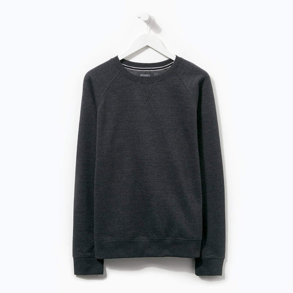 Originals Basic Charcoal Marl Crew Neck Sweater