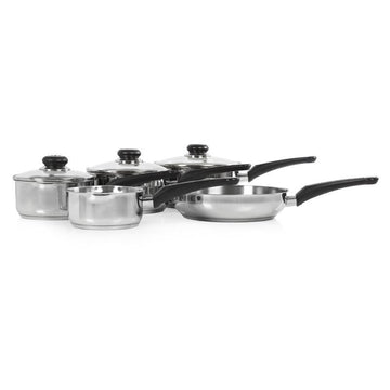 Morphy Richards 5 Piece Pan Set Stainless Steel