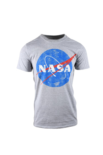 Nasa Vintage Logo Grey T-Shirt