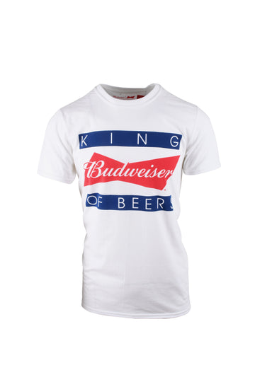 Budweiser King Of T-Shirt White