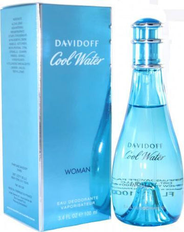 Davidoff Coolwater 100ml Ladies Deodorant Spray