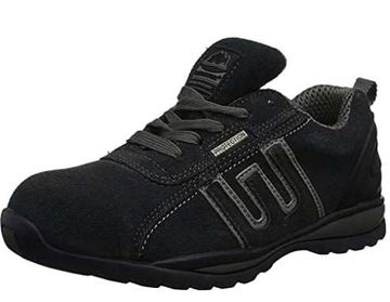 Groundwork Steel Toe Shoe Black Grey
