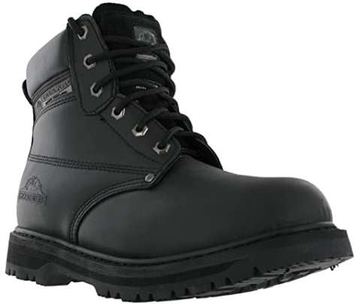 Groundwork Lace Boots Black SK21