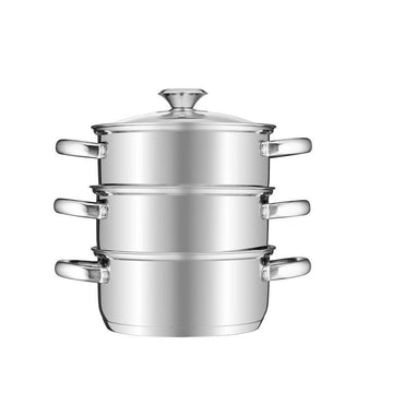 Tower 18cm 3 Tier Steamer Stainless Steel