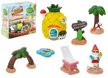 7pc Gnome Surf Shack Set