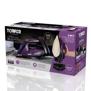 Tower Cordless Steam Iron 2400W