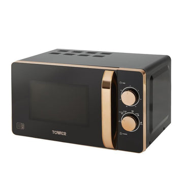 Tower Rose Gold 20L Manual Microwave