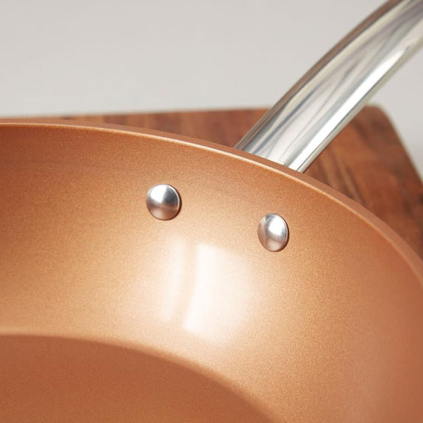 Tower 28cm Copper Forged Frying Pan