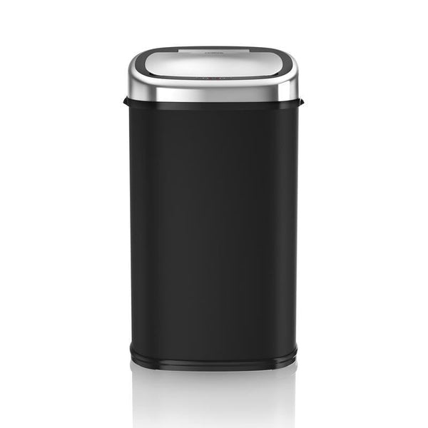 Tower 58L Square Sensor Bin Black