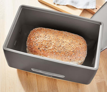 Tower Scandi Bread Bin Grey