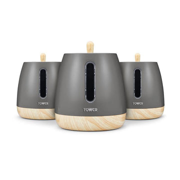 Tower Scandi Set of 3 Canisters