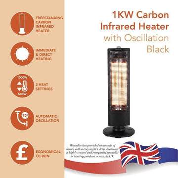 Warmlite 1KW Carbon Heater