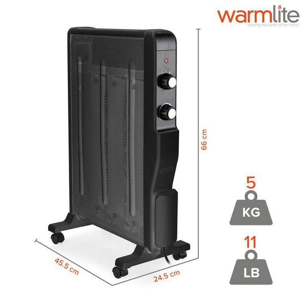 Warmlite Oil Free Mica Radiator - 1500W