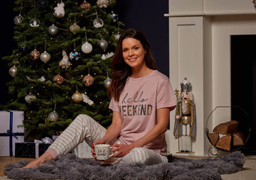 Love to Dream Jersey Pyjamas Set - Hello Weekend