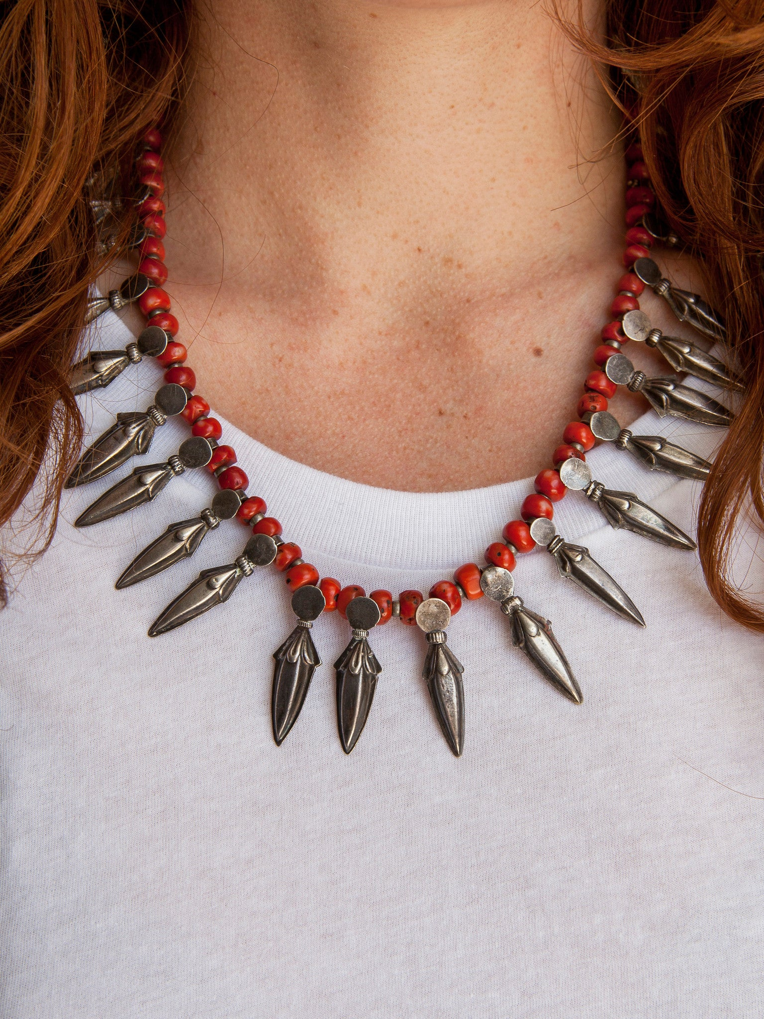 TIbet Coral Necklace