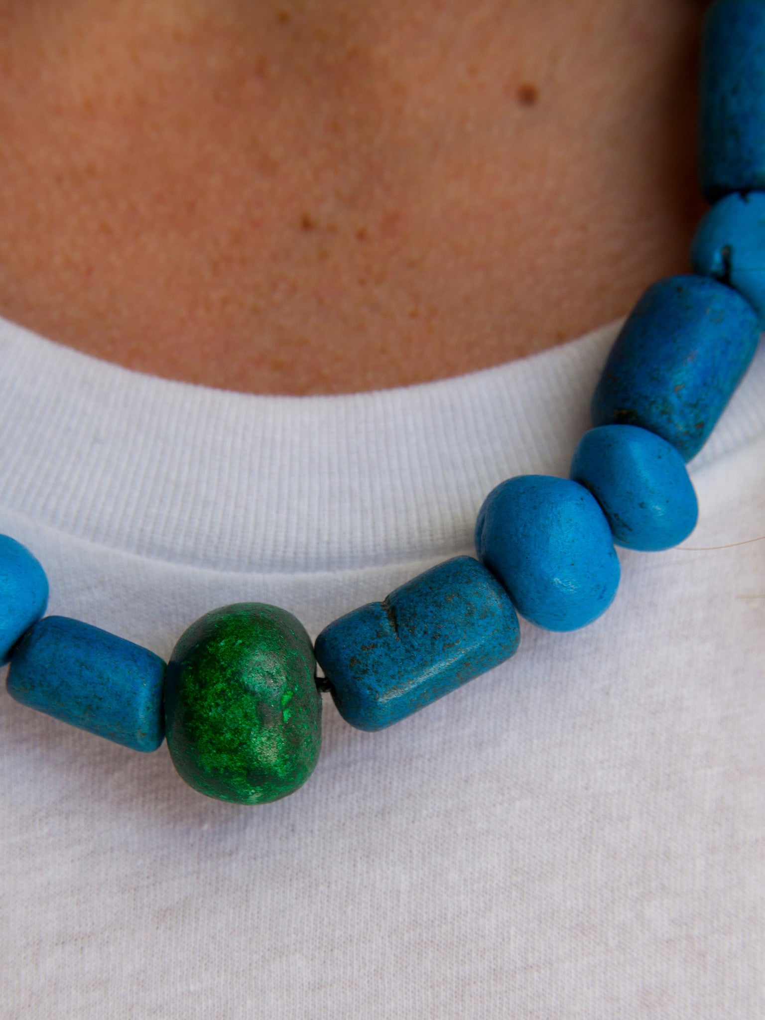 Berber Clay Necklace