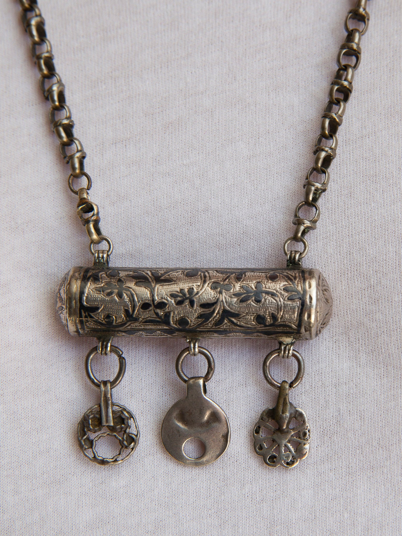 Turkish Silver Amulet