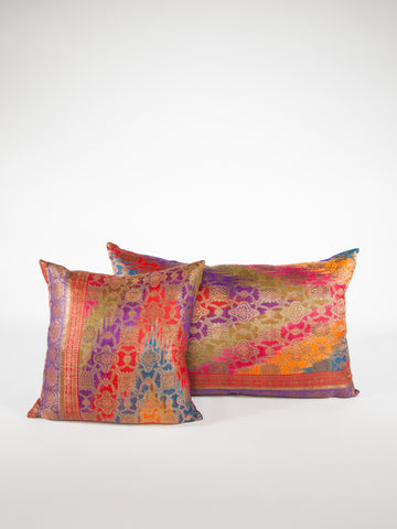 Indian Sari Pillow
