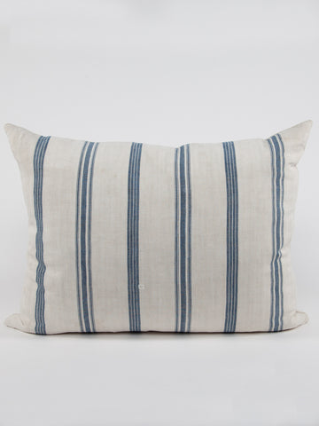 Ticking Linen Pillow 1