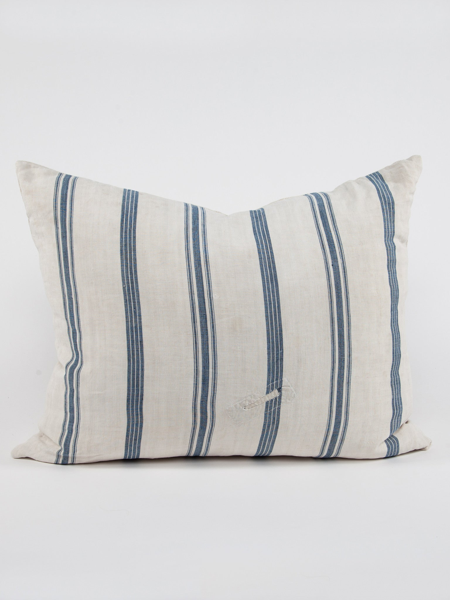 Ticking Linen Pillow 2