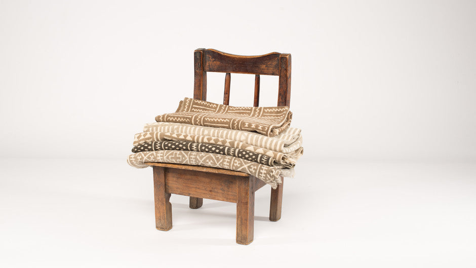 mud cloth pillows senufo bed