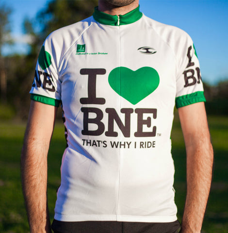 I Green Heart BNE cycling jersey - Unisex | SALE