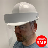 Hard Hat Splatter Visor - Hard Hat not included