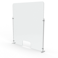 Vertical Shield- Elegant Aluminum Stand