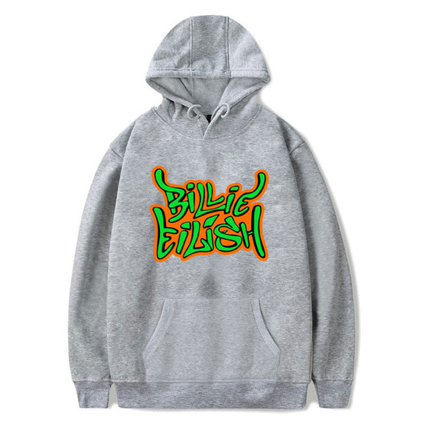 Women'S LBillie Eilish Printed Casual Hood Sweatshirt
