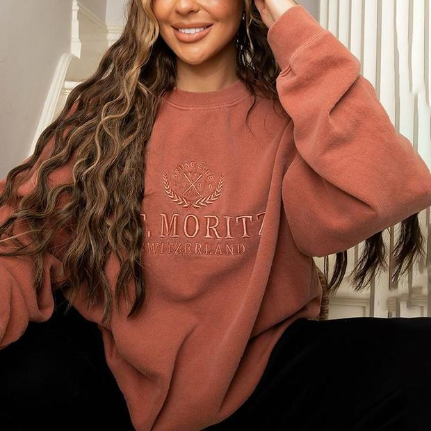 Women's fashion trend printing sweatshirt