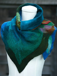 Color-Block Casual Scarves