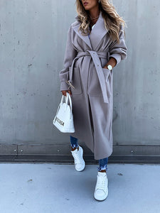 Women'S Fashion Loose Casual Oversize Windbreaker Coat