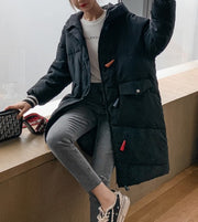 Women'S Over The Knee New Thick Coat