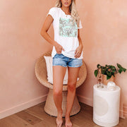 Fashion wild home casual T-shirt