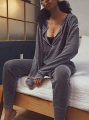 Women'S Fashion  Cozy Cool Girl Lounge Suit