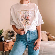 Round neck short sleeve basic wild casual T-shirt