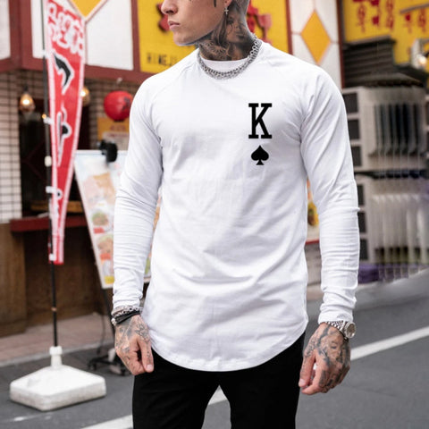 Men Casual Fashion Dragonfly Long Sleeve Sweatshirts