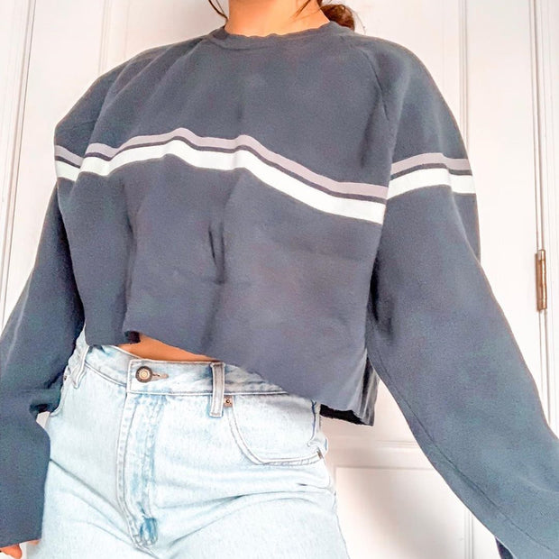 Printed everyday casual sweatshirt