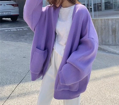 Women's fashion loose sweater