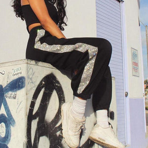 Diamond street fashion sports pants