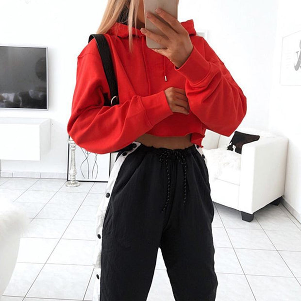 Loose High Waist Fashion Sweater