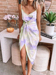 2020 Summer Tie-dyed Maxi Dress